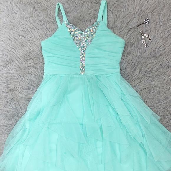 Teal Semi Formal Dresses